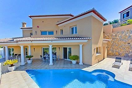 Detached villa for sale Moraira