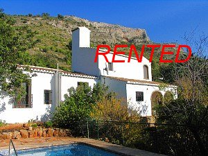 Finca for rent Javea