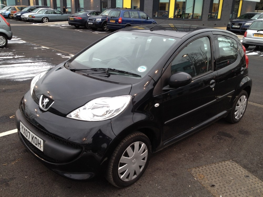 2007 PEUGEOT 107 1.0 BLACK 5dr - Air Con - Tax & MOT