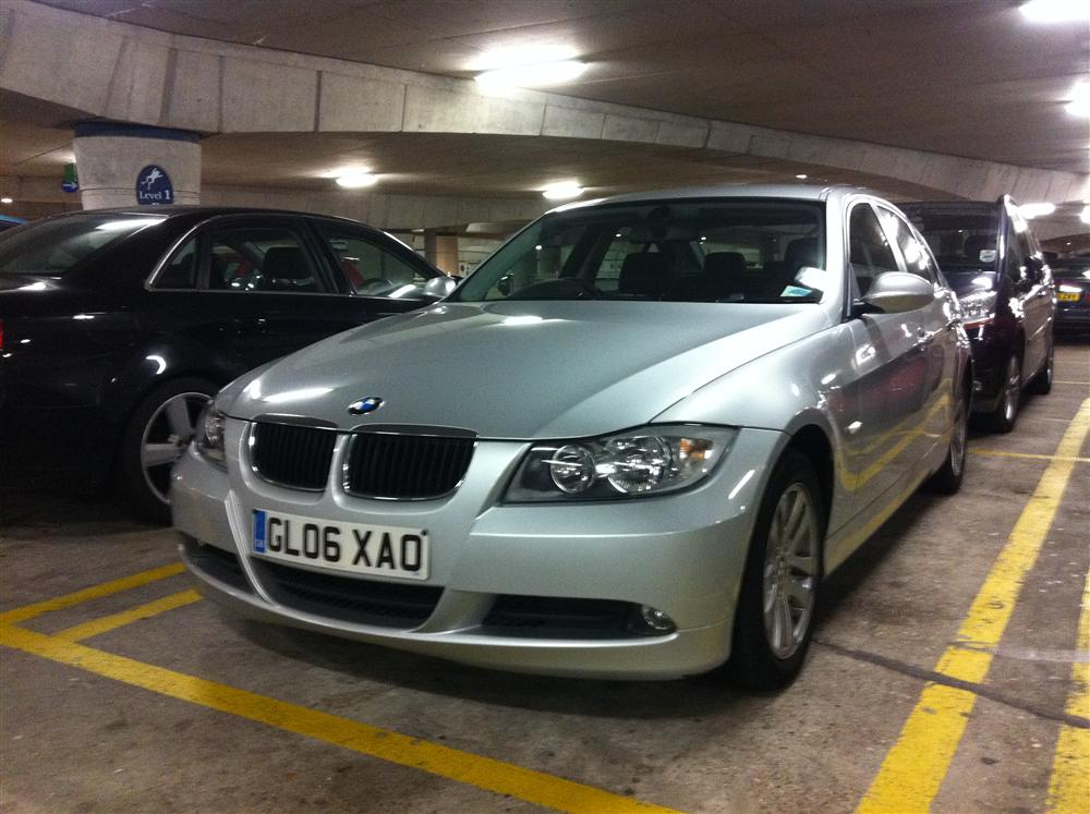 2006 BMW 320D SE - SILVER 4dr SALOON - CLIMATE CONTROL - Tax & MOT for sale in Dartford