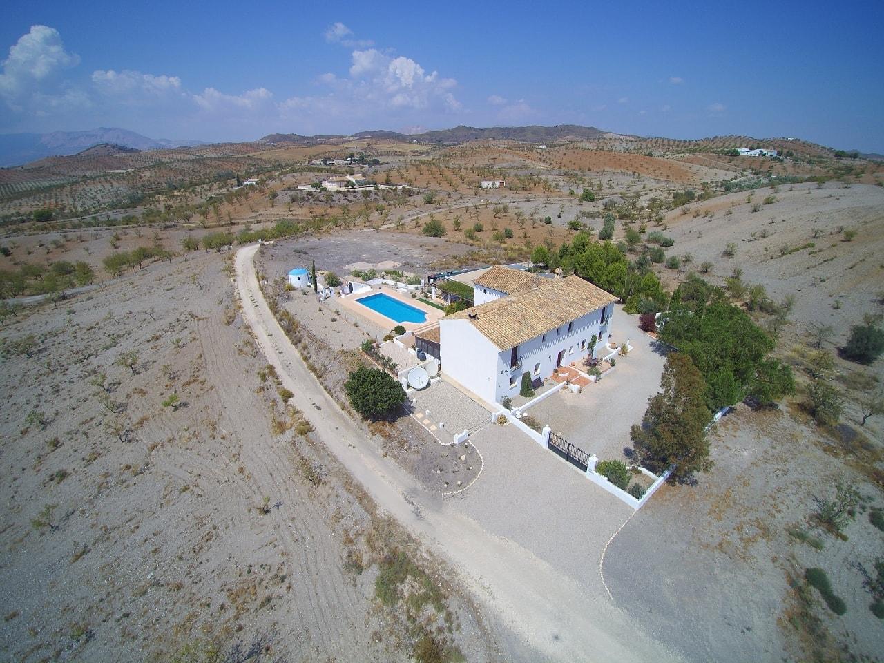 Cortijo for sale Puerto Lumbreras