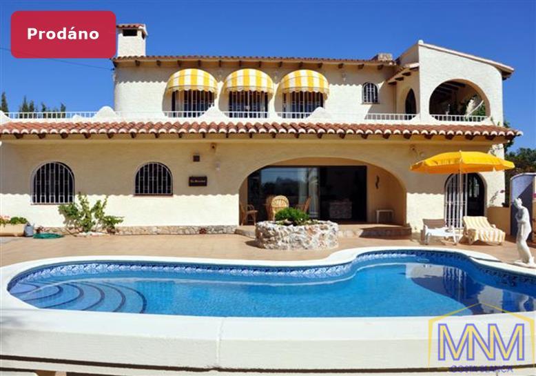 Vila na prodej v Moraira, Costa Blanca