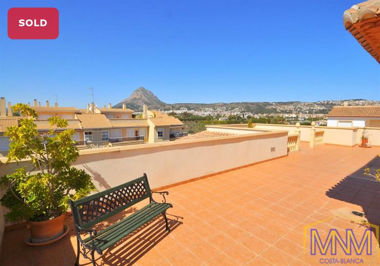 Penthouse for sale in Javea, Costa Blanca