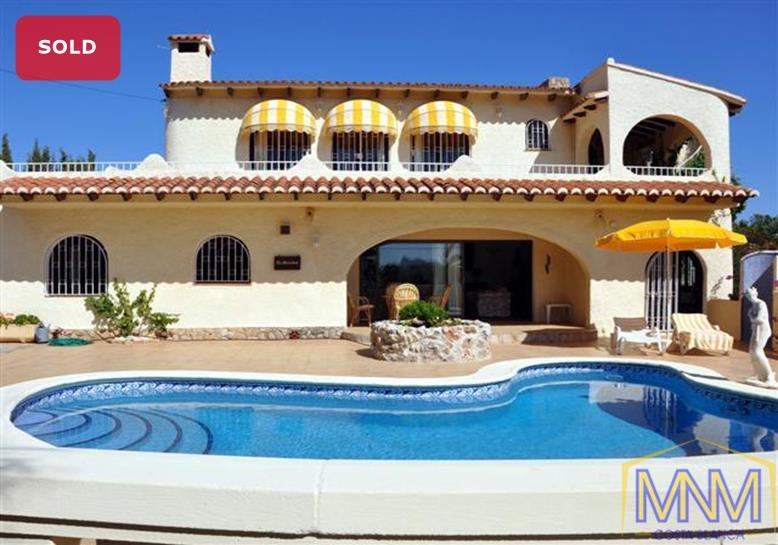 Villa for sale in Moraira, Costa Blanca