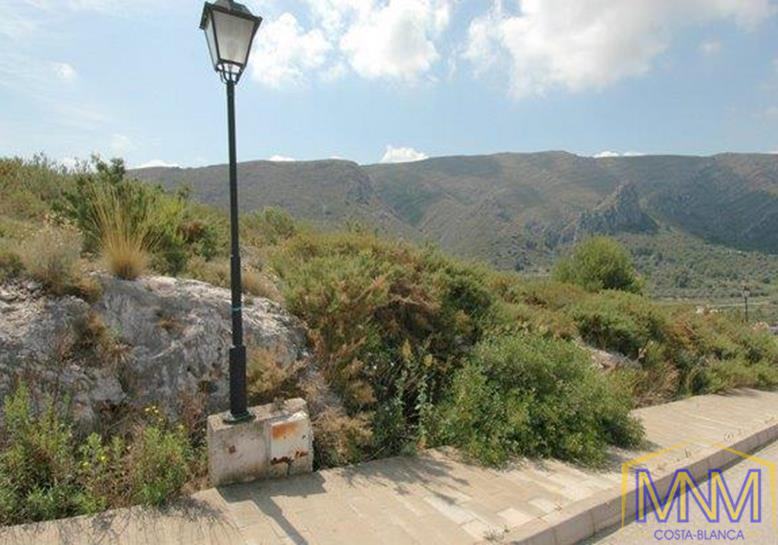 Plot for sale in Denia, Costa Blanca