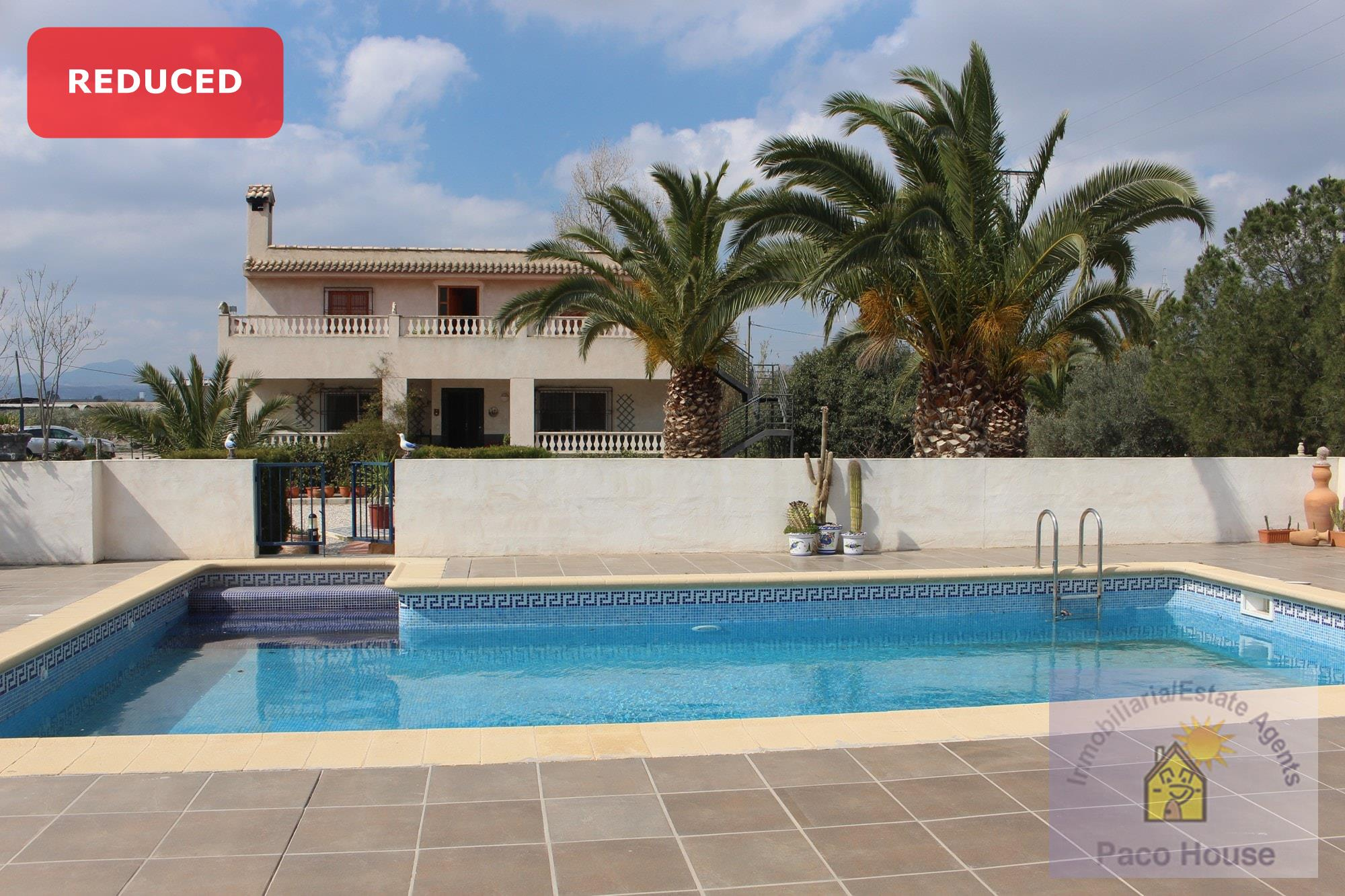 Country House for sale Puerto Lumbreras