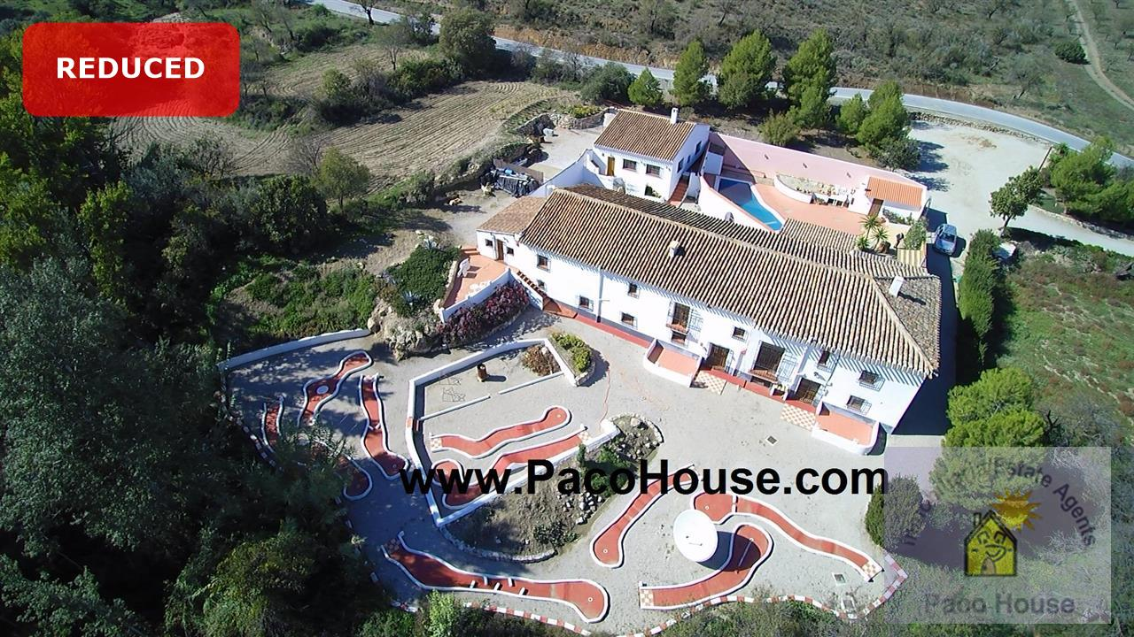 Guest House for sale Velez-Rubio