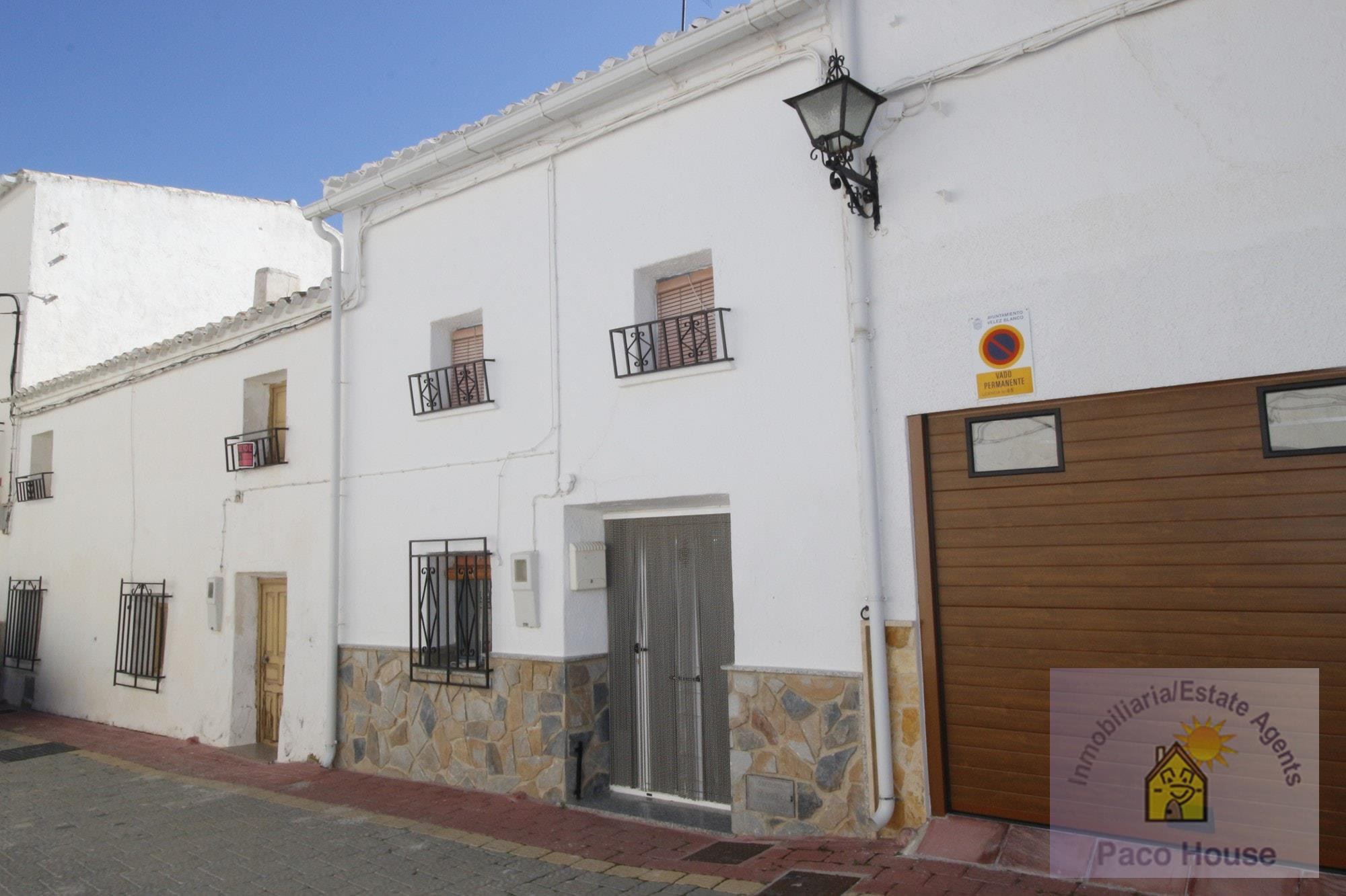 Town House for sale Velez-Blanco