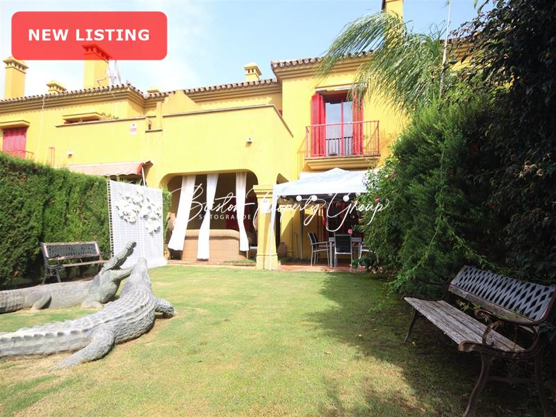 Town House in Sotogrande Costa