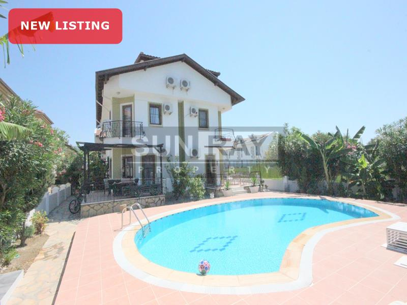 Villa with shared pool for sale Dalyan
