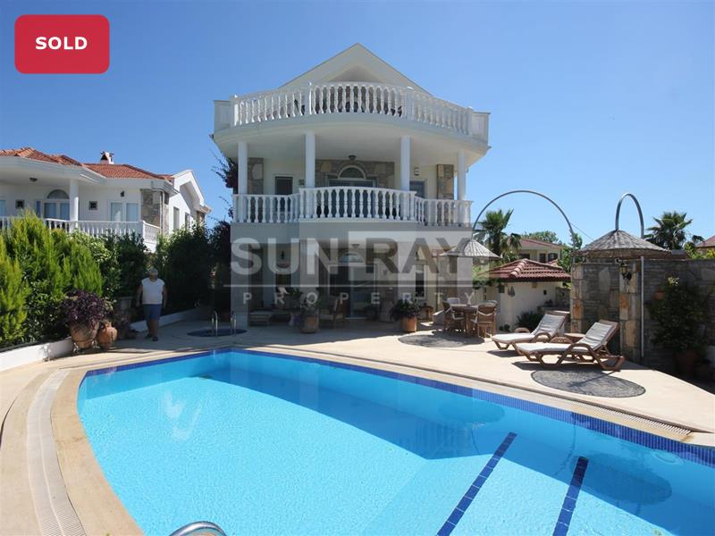 Villa with private pool for sale Dalyan