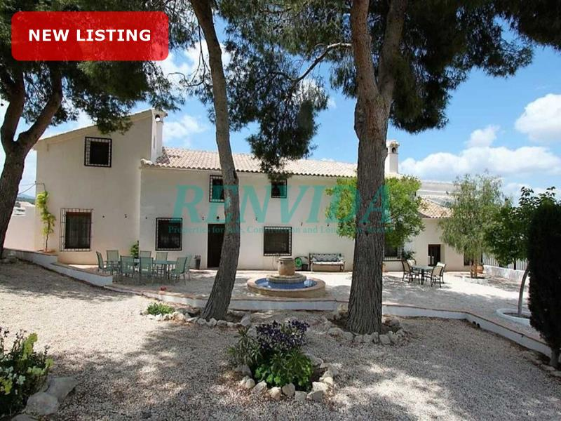 Villa for sale Caravaca de la Cruz