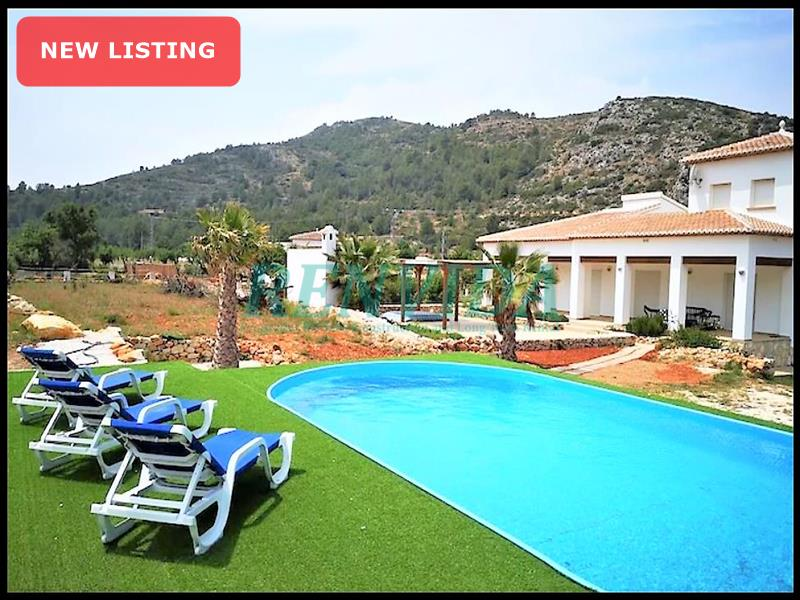 Villa for sale Lliber