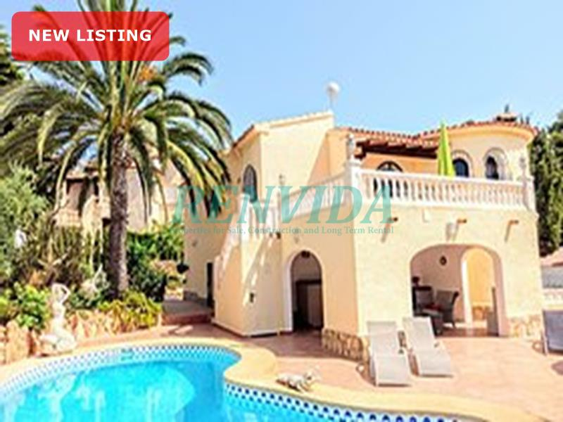 Villa for rent Calpe