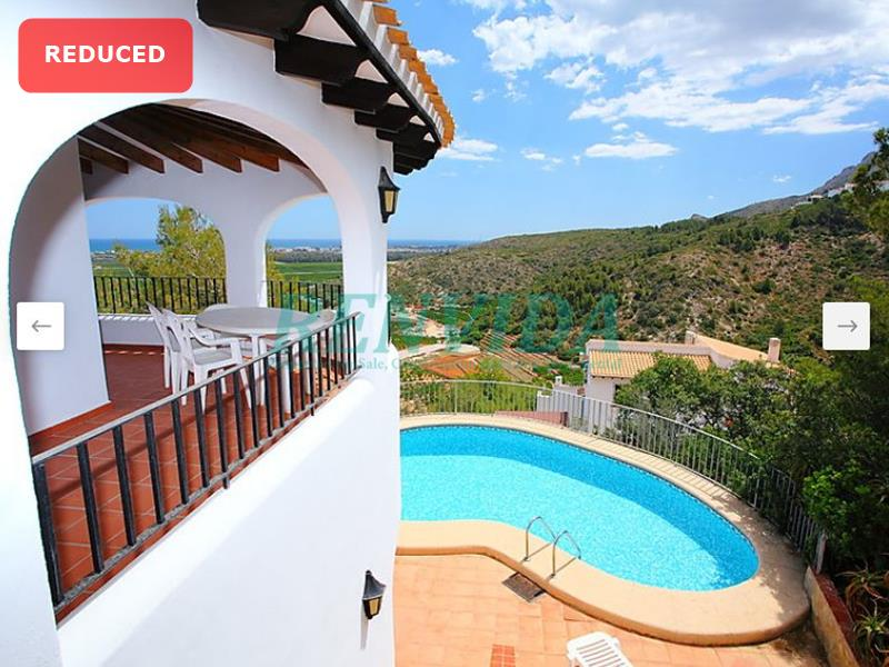 Villa for rent Monte Pego