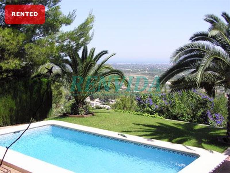 Villa for rent La Sella