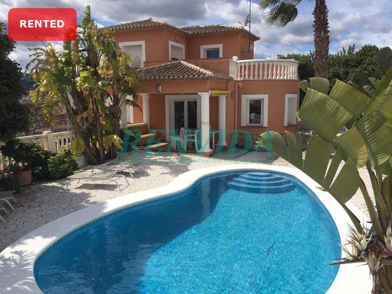 Villa for rent Beniarbeig