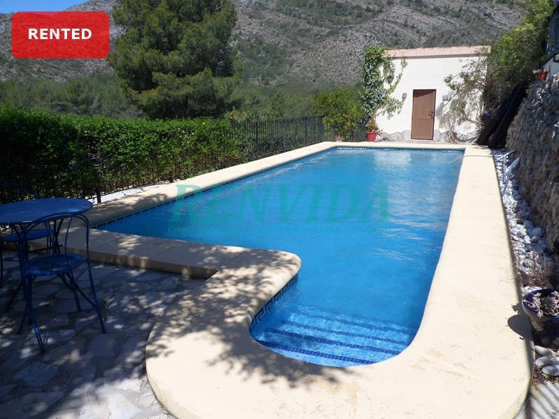 Villa for rent Lliber