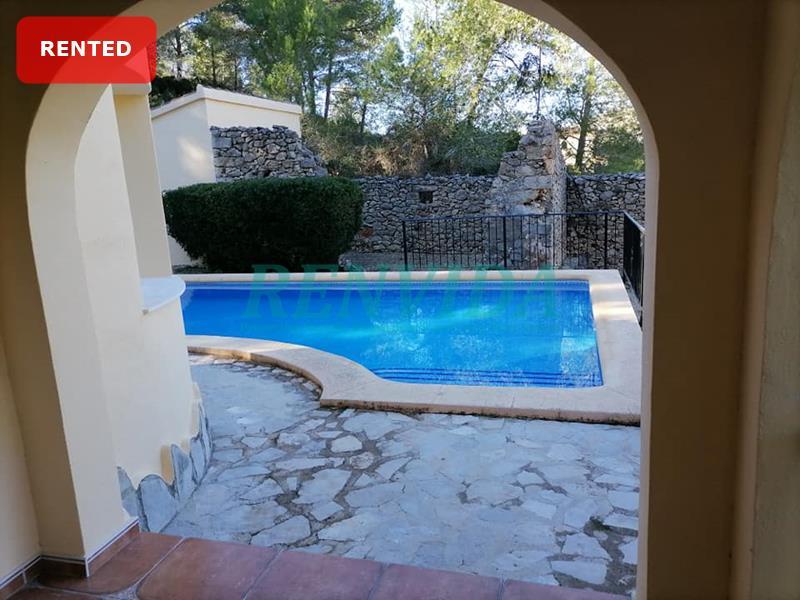 Villa for rent Lliber