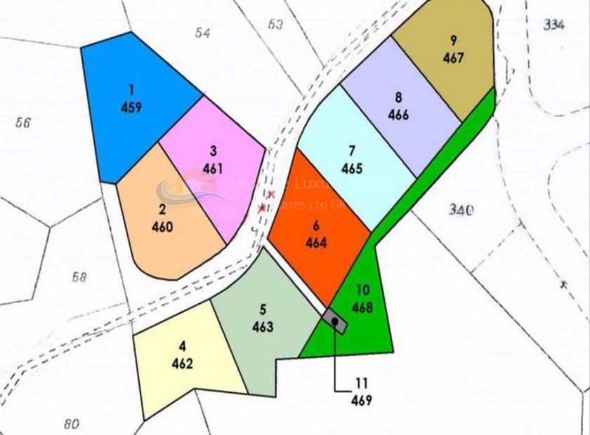 Land in Agios Tychonas