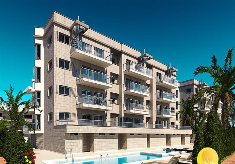 Penthouse in Oliva Nova