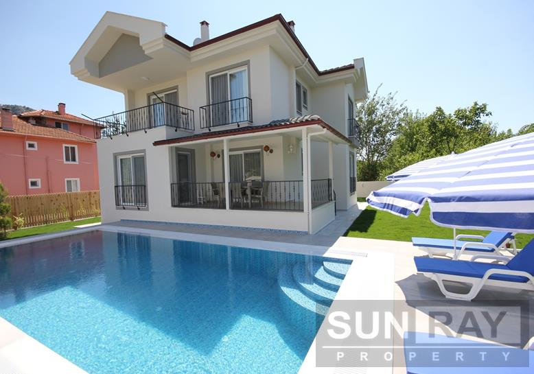 Villa with private pool in Okcular